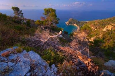 Varigotti coastline