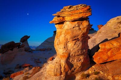 Balancing rocks at Studhorse Point, Arizona